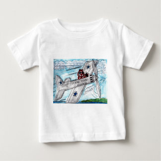 Flying Tigers Airlines Baby T-Shirt