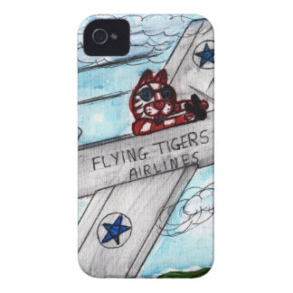 Flying Tigers Airlines Case-Mate iPhone 4 Cases