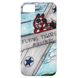 Flying Tigers Airlines iPhone 5 Cover