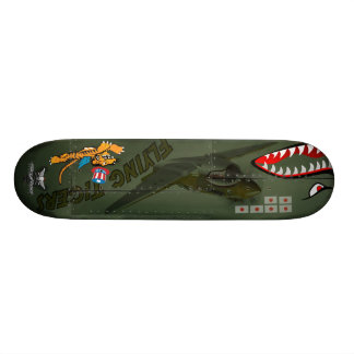 Flying Tigers P-40 Skate Boards