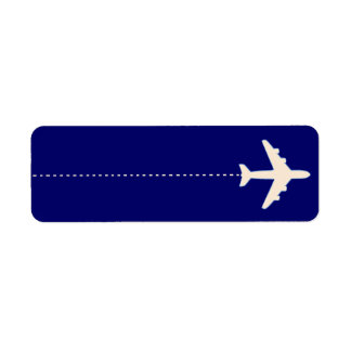 flying to return address label