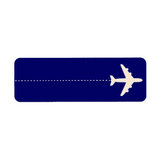 flying to return address label