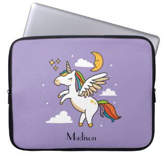 Flying Unicorn Laptop Sleeve