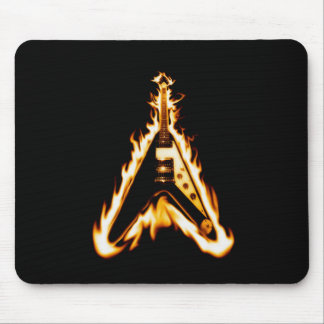 Flying V Guitar Mouse Pad
