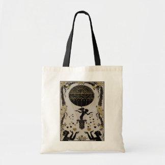 Flying Valentines ~ Bag Art Nouveau Deco Heart