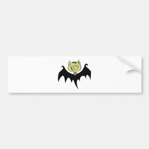 Flying Vampire Bumper Stickers