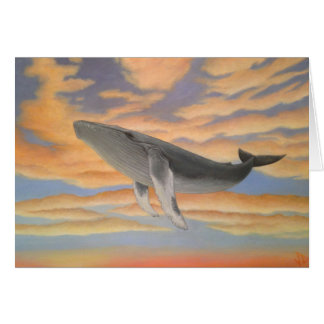 Flying Whale Cards