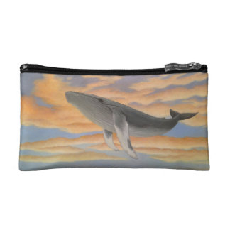 Flying Whale Pouch Makeup Bag