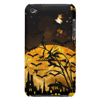 Flying Witch Harvest Moon Bats Halloween Gifts iPod Touch Cover