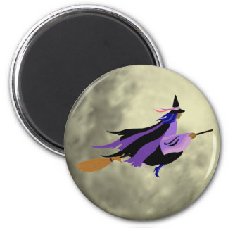 Flying Witch Magnet