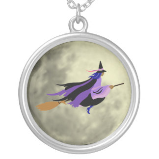 Flying Witch Necklace