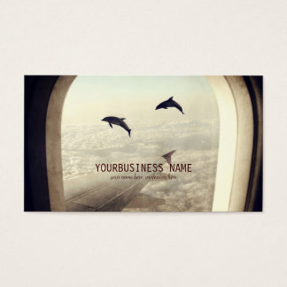 Flying with Dolphins Business Card