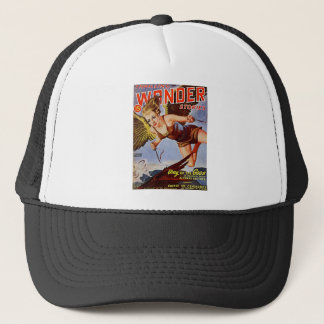 Flying Woman Trucker Hat
