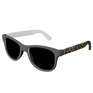 Flyology Lux Print black Sunglasses