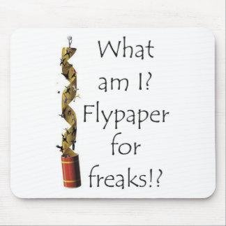 Flypaper for Freaks Mousepads