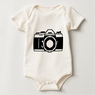 fm10_camera baby bodysuit