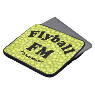 FM, Flyball Master Laptop Sleeve