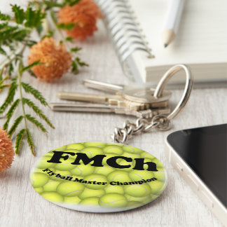 FMCh, Flyball Master Champion 15,000 Points Key Ring