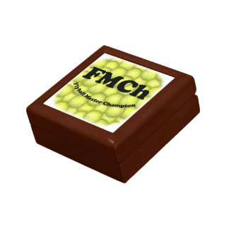 FMCh, Flyball Master Champion 15,000 Points Small Square Gift Box