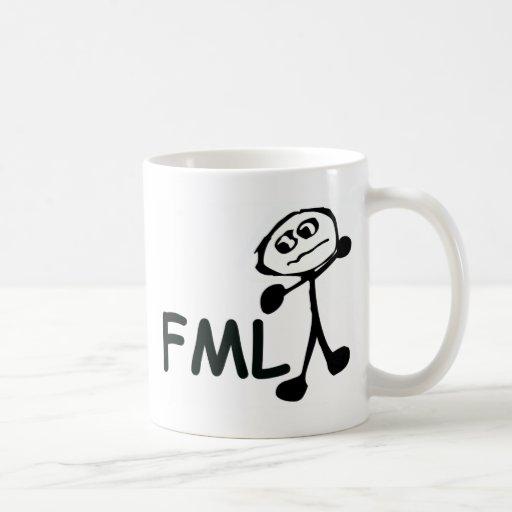 FML Cartoon Man Mug