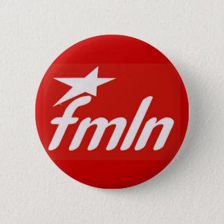 FMLN 6 CM ROUND BADGE