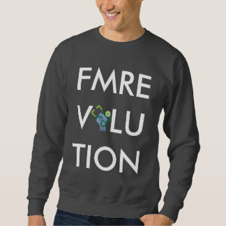 FMRevolution: Text Sweatshirt (Grey)
