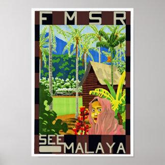 FMSR See Malaya Poster