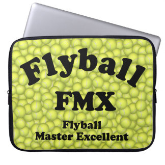 FMX, Flyball Master Excellent 10,000 Points Laptop Sleeve