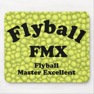 FMX, Flyball Master Excellent 10,000 Points Mouse Pad