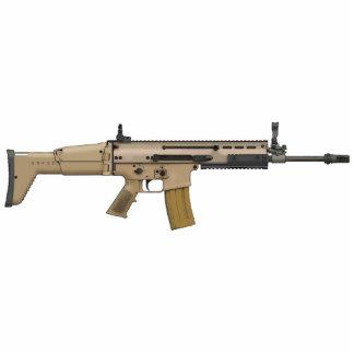 FN SCAR STANDING PHOTO SCULPTURE