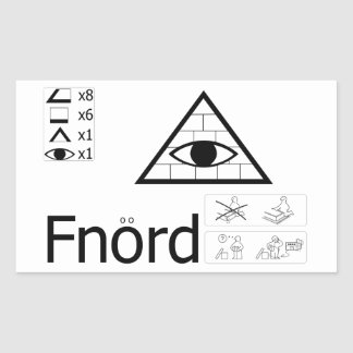 Fnord Sticker