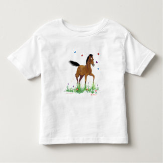 Foal and Butterflies Toddler T-shirt