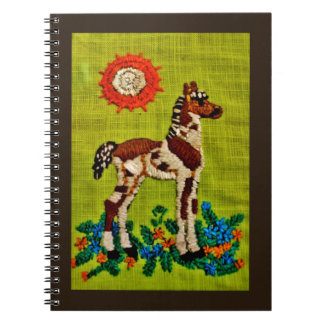 Foal Embroidery Notebooks