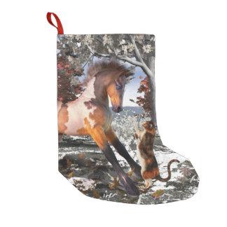 Foal & Kitty Christmas Holiday Stocking