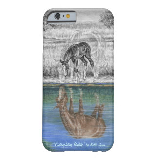 Foal Water Reflection of Horse Barely There iPhone 6 Case
