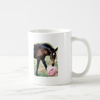 Foal with Pink Hat Coffee Mug