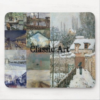 Foam Pad: Model: Known Artist Work (Painting) Mouse Pad