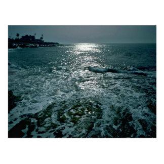 Foaming Sea Postcard