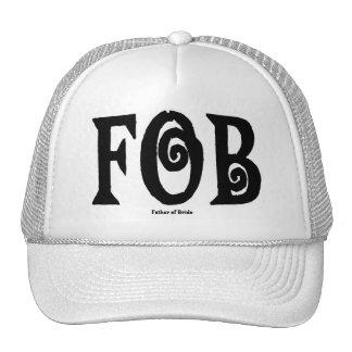FOB (Father of Bride) Cap Black