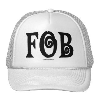 FOB (Father of Bride) Cap Hat