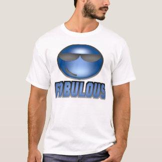 Fobulous Smiley Blue T-Shirt