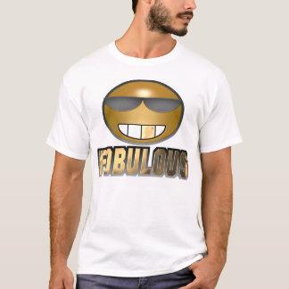 Fobulous Smiley Gold T-Shirt