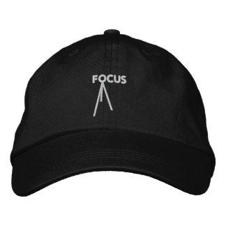 Focus Adjustable Embroidered Cap
