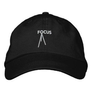 Focus Adjustable Embroidered Hat