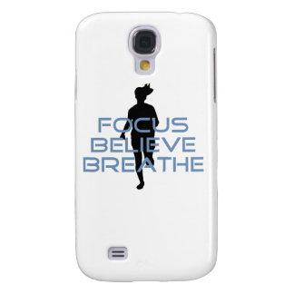 Focus Believe Breathe Blue T-shirts HTC Vivid Case