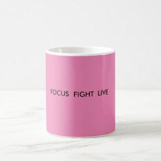 Focus fight live standard coffee mug