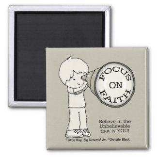 Focus On Faith Magnet