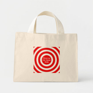 Focus on the Higher Good Canvas Bag