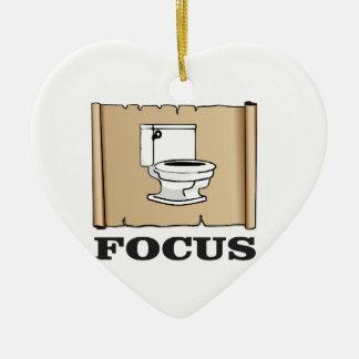 focus on the pot ceramic ornament
