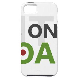 Focus on your goals iPhone 5 case